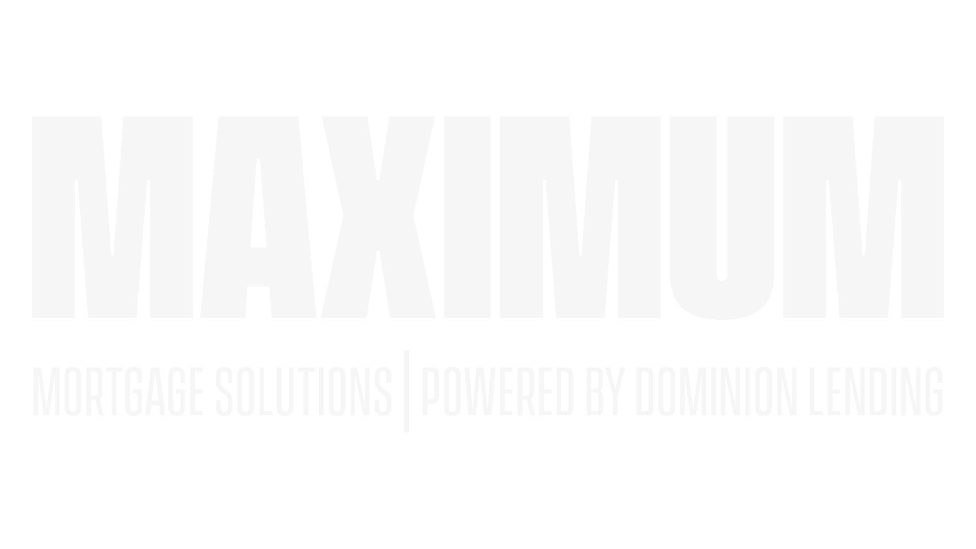 Maximum Mortgage Logo